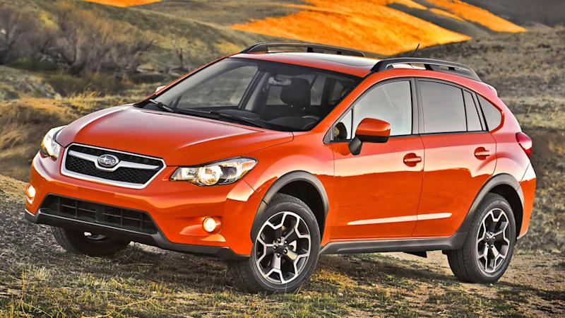 2013 Subaru XV Crosstrek gets a head start on its mall running duties