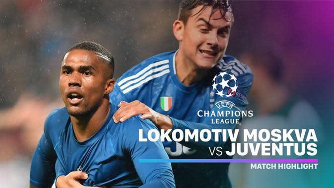 VIDEO: Highlights Liga Champions, Lokomotiv Moscow Vs Juventus 1-2