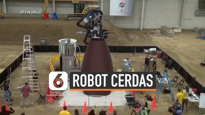 VIDEO: Robot Cerdas untuk Bangun Infrastruktur di Bulan