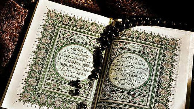 Ilustrasi Al-Quran (Sumber: steemit.com)