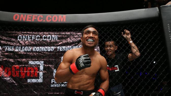 Abro Fernandes siap menggebrak di ONE Championship Malaysia 12 Juli mendatang (dok: One Championship)