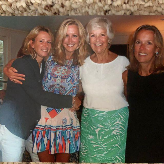 "<p>Like mother, like daughters! Lara Spencer and her sisters each resemble mom Carolyn in different ways. Lara and her mom both seem to fancy colorful patterns, too.</p><p><a href=""https://www.instagram.com/p/CABqx1FDSPm/"">See the original post on Instagram</a></p>"