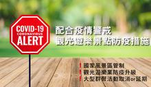 配合疫情警戒 交通部觀光遊樂景點防疫措施