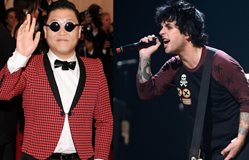 "PSY Thanks Green Day Vocalist for Calling Him ""The Herpes of Music"""