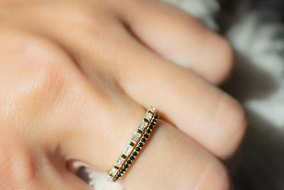 Tiny Ring Stackable Ring Thin Band Ring Minimalist Ring Gold Ring Silver Ring Gold Plated Ring Dainty Ring Gift For Her