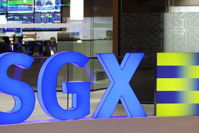 Bursa Singapura ditutup jatuh, Indeks Straits Times anjlok 3,77 persen