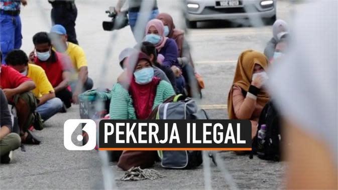 VIDEO: Malaysia Tangkap Ratusan Pekerja Ilegal untuk Cegah Penyebaran Virus Corona