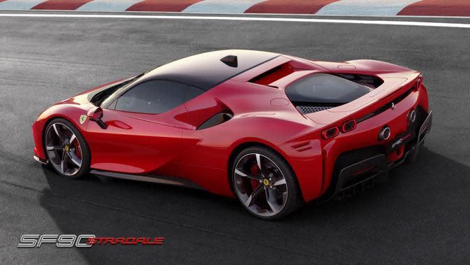 Pengiriman Mobil Hybrid Ferrari Tertunda Gara-Gara Pandemi