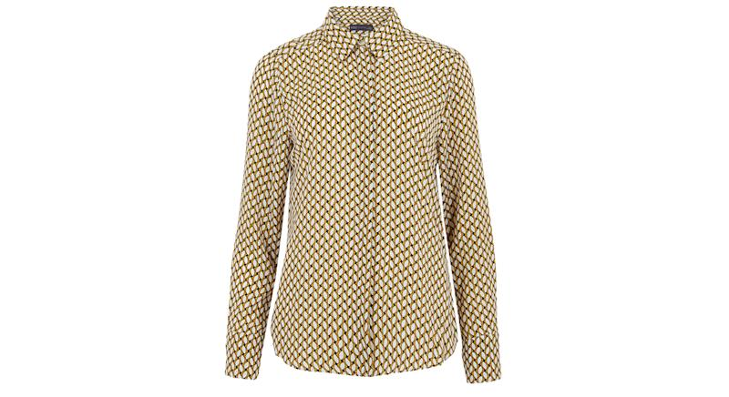 Geometric Long Sleeve Shirt