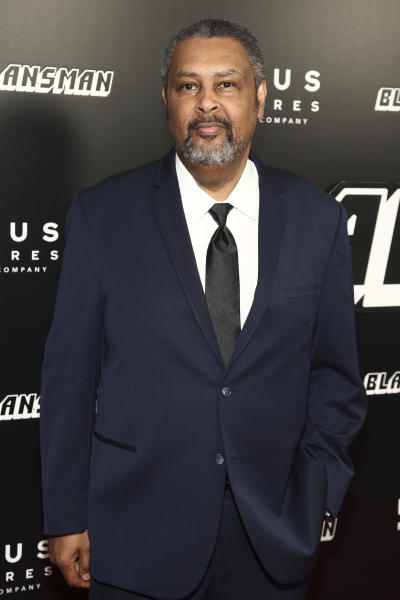 """FILE - In this July 30, 2018 file photo, writer Kevin Willmott attends the premiere of """"BlacKkKlansman"""" in New York. Willmott recently completed a drama, """"The 24th,"""" about the Houston Riots, in which some 150 black soldiers marched on Houston in 1917 after a police force evolved from plantation patrols and slave catchers brutalized them. (Photo by Andy Kropa/Invision/AP, File)"""