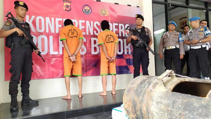 Polisi Tertibkan Tambang Emas Ilegal di Cigudeg Bogor