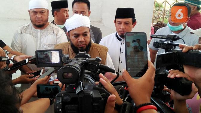 Wali Kota Bengkulu Helmi Hasan merilis program HD Samawa untuk warga mendapatkan pasangan hidup. (Liputan6.com/Yuliardi Hardjo)