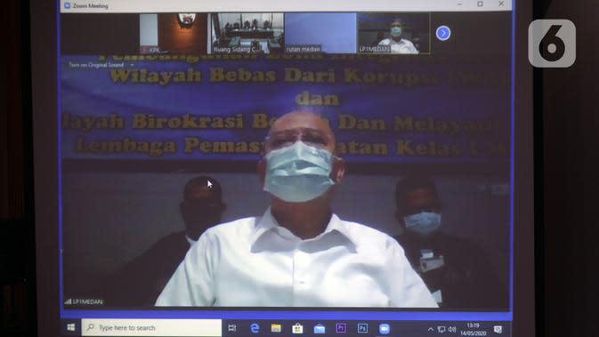 Eks Wali Kota Medan Teuku Dzulmi Eldin Dituntut 7 Tahun Penjara