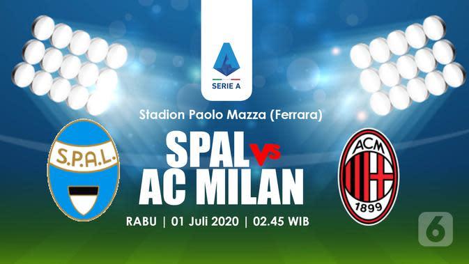 PREDIKSI SPAL VS AC MILAN (Liputan6.com/Abdillah)