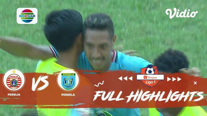 VIDEO: Highlights Liga 1 2019, Persija Vs Persela 4-3