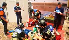 緊急救護技術員競技 高市成績優異