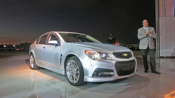 2014 Chevrolet SS, an Aussie built for NASCAR, races into America