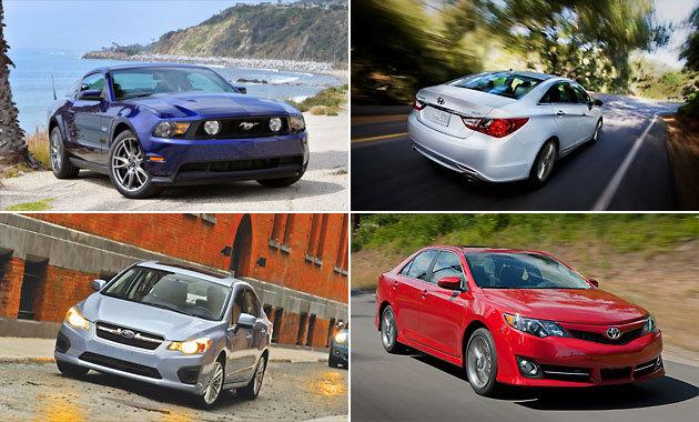 Consumer Reports' top picks of 2012