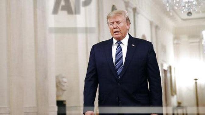 Presiden AS, Donald Trump. (Source: AP/ Patrick Semansky)