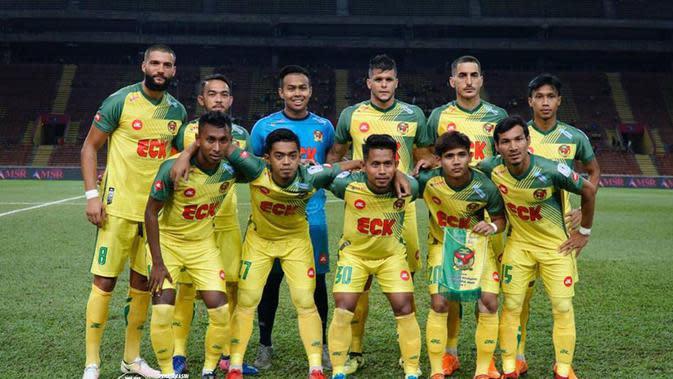 Andik Vermansah kembali jadi starter saat Kedah FA menjalani laga tandang melawan PKNS, Minggu (25/2/2018). (Bola.com/Dok. Facebook Kedah FA)