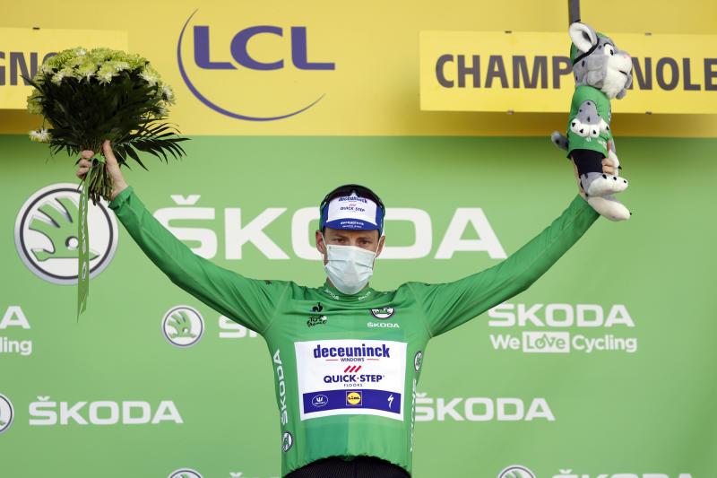 Tour de France 2020 - 107th Edition - 19th stage Bourg-en-Bresse - Champagnole 166,5 KM - 18/09/2020 - Sam Bennett (IRL - Deceuninck - Quick Step) - photo POOL/BettiniPhoto©2020