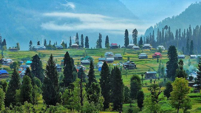 Arang Kel, Lembah Neelum Lembah - Kashmir. (Creative Commons)
