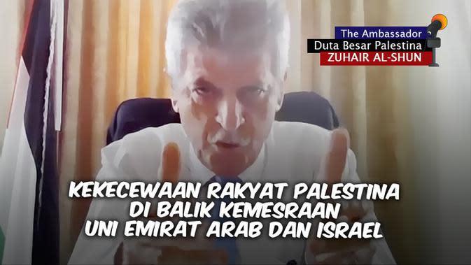 VIDEO: Kekecewaan Rakyat Palestina di Balik Kemesraan Uni Emirat Arab - Israel