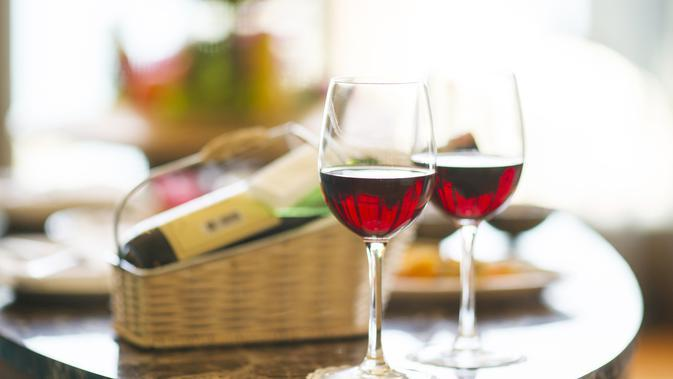 Manfaat red wine untuk kesehatan. (Foto: pixabay.com)