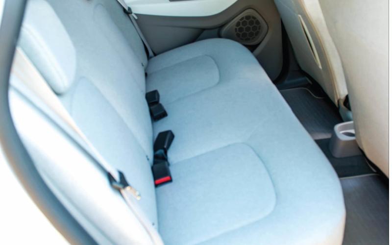 Renault Zoe electric car - rear seats