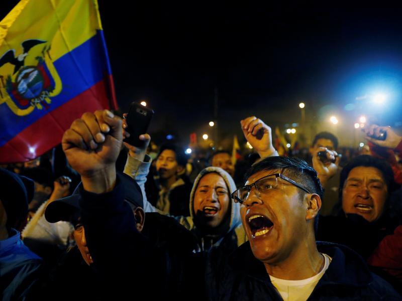 南美動盪不只哥國 厄瓜多「天下圍城」
