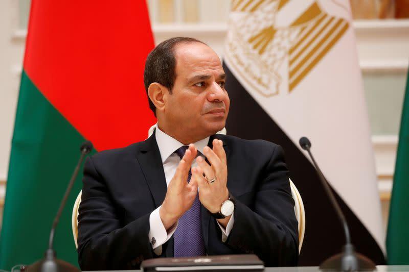 Egypt has a legitimate right to intervene in Libya, Sisi says