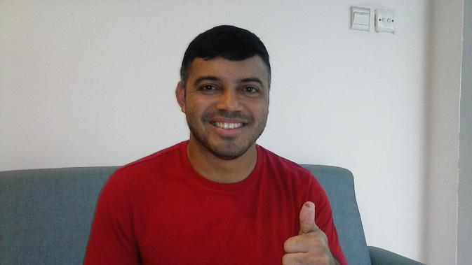 Danilo Fernando. (Bola.com/Erwin Snaz)