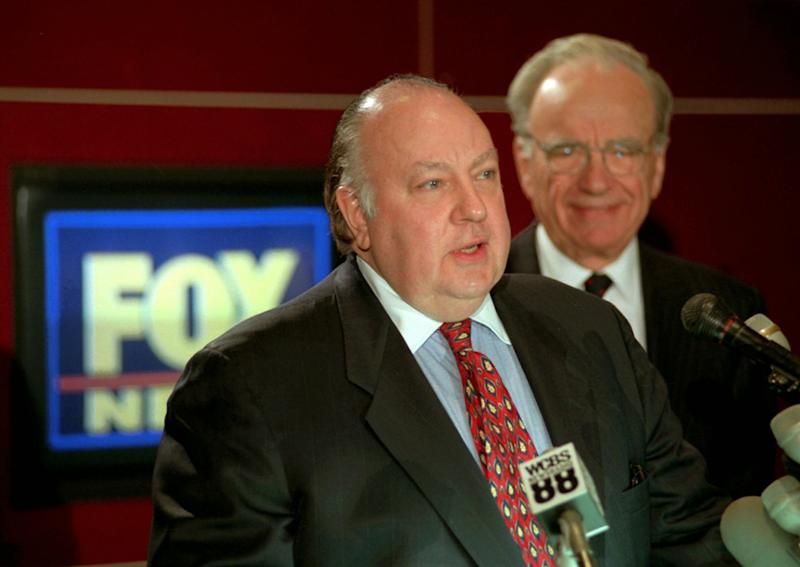 "Roger Ailes: ""I'm Not Reacting to CNN and MSNBC"""