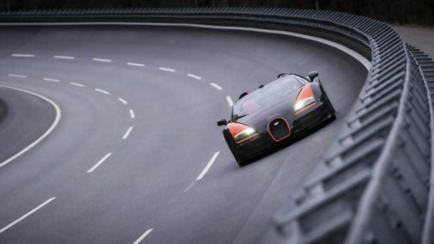 Bugatti Veyron Grand Sport Vitesse becomes the fastest convertible in the world