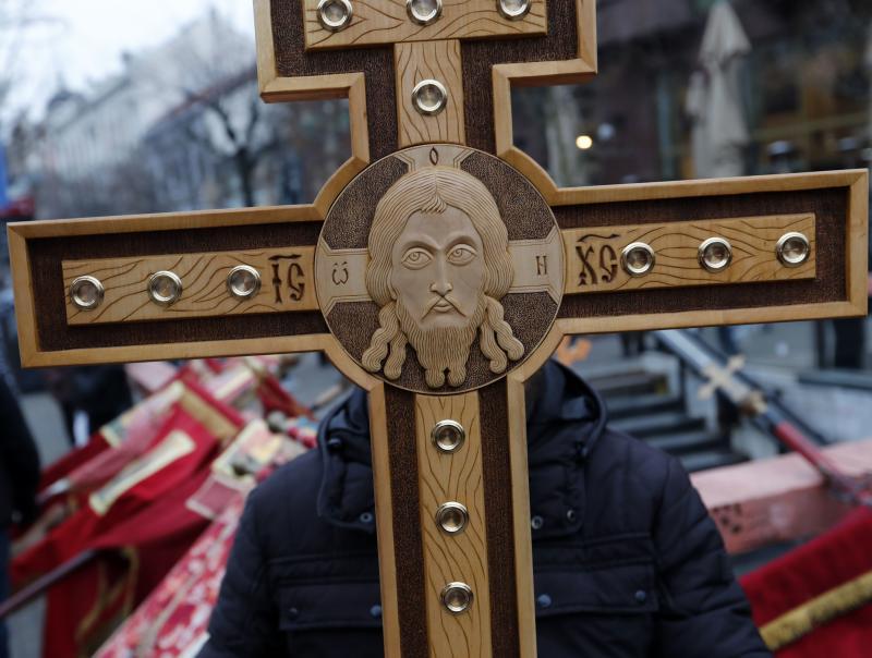 Gereja Serbia protes penderitaan etnis Serbia di Balkan