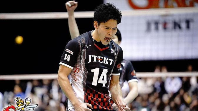 Pemain JTEKT Stings Yuji Nishida. (foto: Instagram @nishidayuji0130)