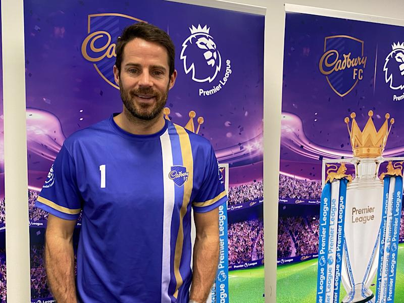 Former Liverpool captain Jamie Redknapp was in Singapore to help promote a Cadbury campaign. (PHOTO: Chia Han Keong/Yahoo News Singapore)