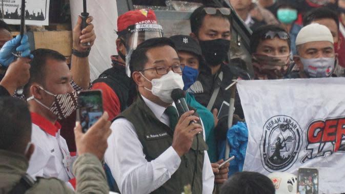 Ridwan Kamil Minta Saran WHO Soal Penyuntikan Vaksin Covid-19 di Jabar
