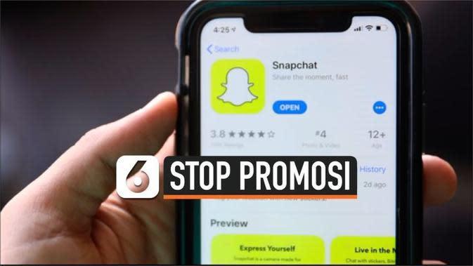 VIDEO: Snapchat Stop Promosikan Akun Donald Trump