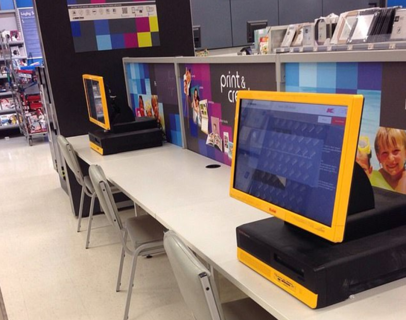 The store's Kodak photo kiosk were affected. Photo: Yelp