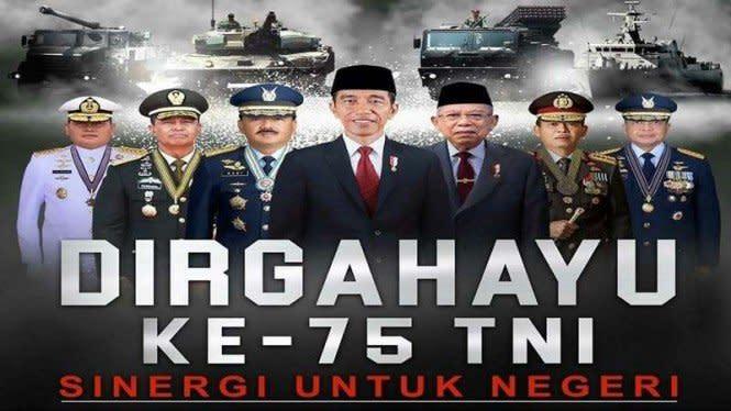 HUT ke-75, DPR Harap TNI Sinergi Hadapi COVID-19 dan Resesi EkonomI