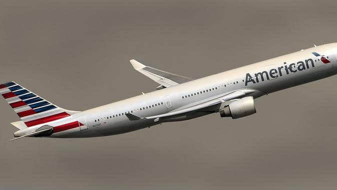 Ilustrasi American Airlines. (dok Bilaleldaou/Pixabay/Tri Ayu Lutfiani)
