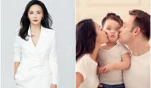 吳奇隆前妻閃婚外籍富尪 混血兒女顏值超驚人