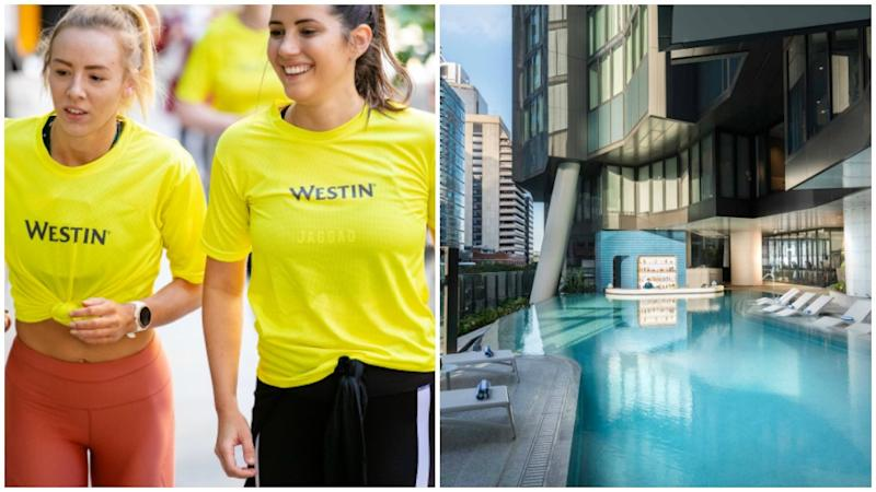 My stay The Westin Brisbane was the perfect balance of fitness and all-out luxury. Photo: Supplied