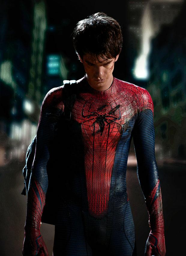 First Photo of Andrew Garfield as 'Spider-Man' Revealed