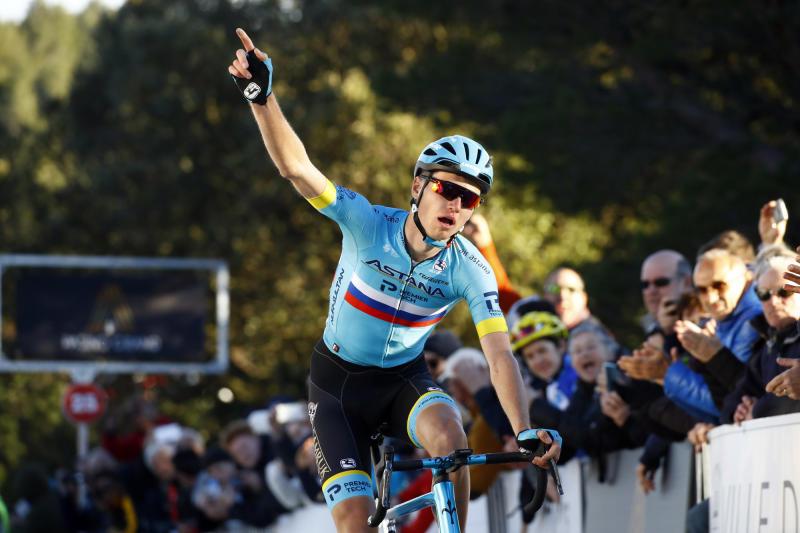 Aleksandr Vlasov (Astana) won stage 2 of the Tour de La Provence