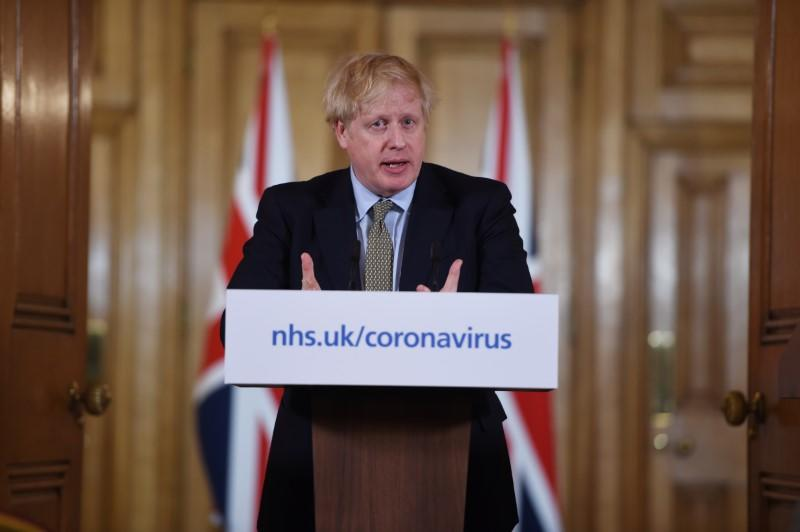 UK can turn the tide against virus in next 12 weeks - PM Johnson