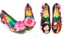 英品牌推6款「花木蘭聯名鞋」!濃厚紙紮風惹網吐槽:很難懂的時尚