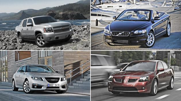 The death list: Cars that aren't coming back for 2013