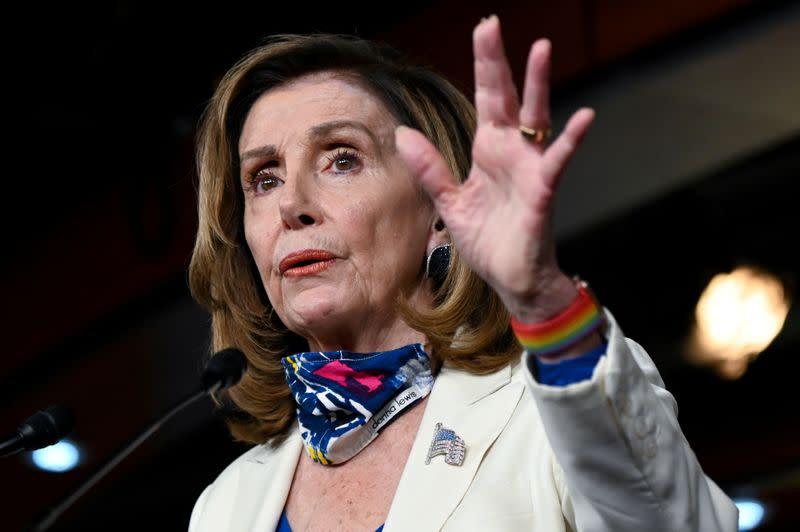U.S. House Speaker Pelosi says making progress on coronavirus relief legislation